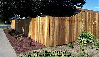 Don & Nae's wood fencing